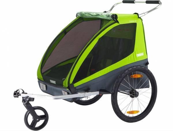 Thule Kinderanhänger Coaster XT 2-sitzer Avocado