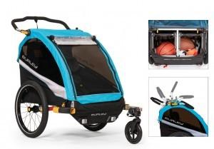 Fahrrad-Kinder-Anhänger Burley D`Lite X